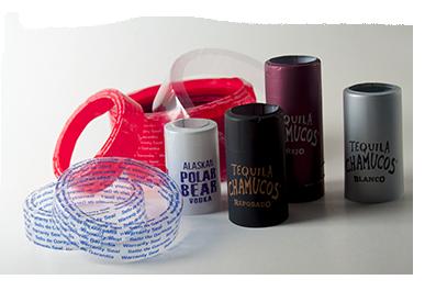 Packsure -Etiquetas y bandas de garantía termoencogibles-